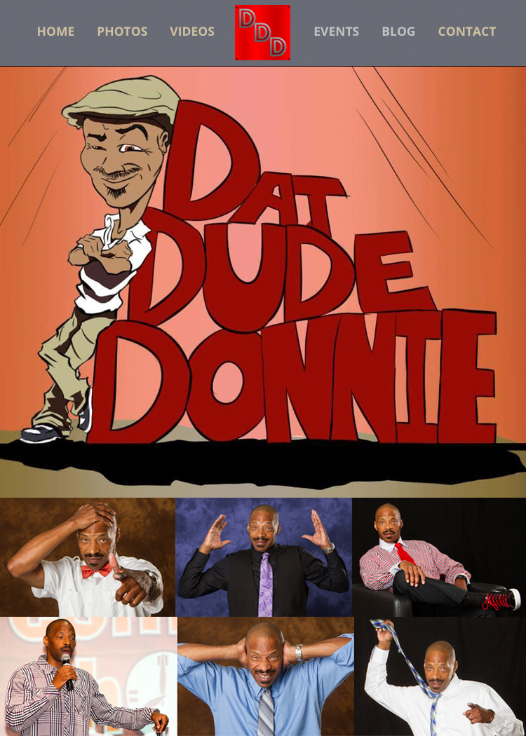 Dat Dude Donnie Website