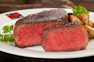 New York Strip Stake Food Photography In Las Vegas by Electric Pixles