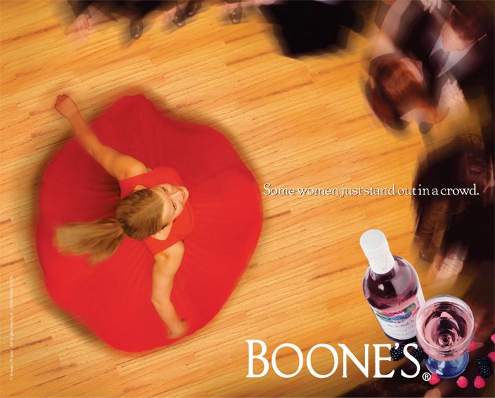 Boone's Ad Graphic Design by Electric Pixels Las Vegas